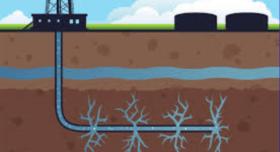 добыча сланцевого газа, сланцевая добыча, жидкость для гидроразрыва пласта